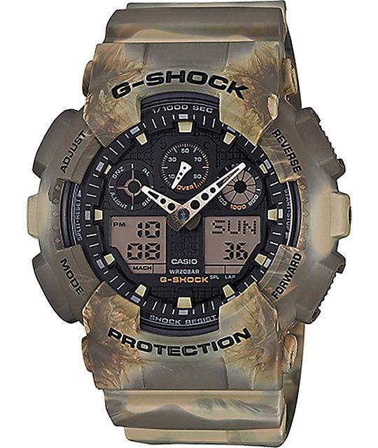 G-Shock GA-100MM-5A Marble Desert Watch