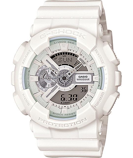 G-Shock GA-110BC-7A White Series Digital Chronograph Watch