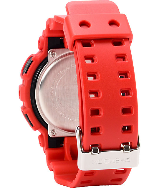 G-Shock GA100B-4A X-Large Red Watch