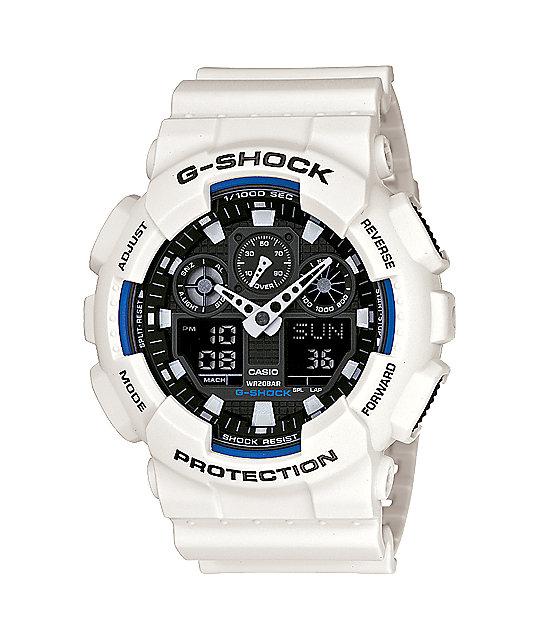 G-Shock GA100B-7A X-Large White Watch