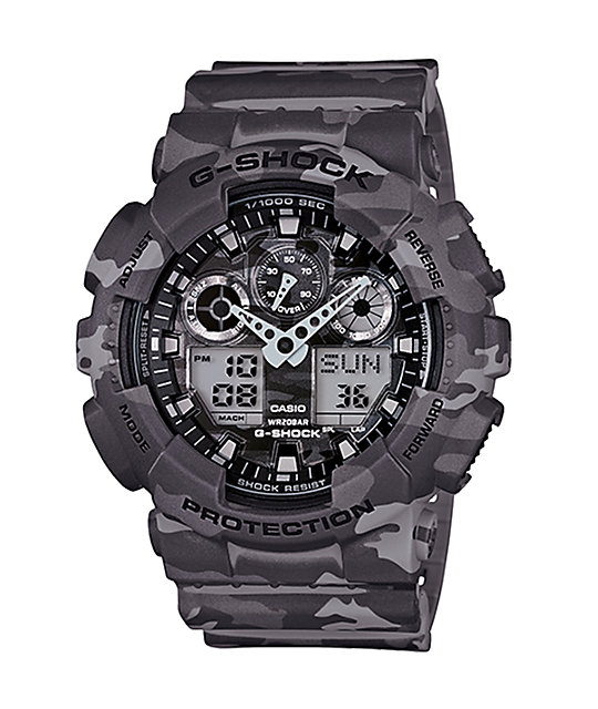 G-Shock GA100CM-8A Digital Chronograph Watch