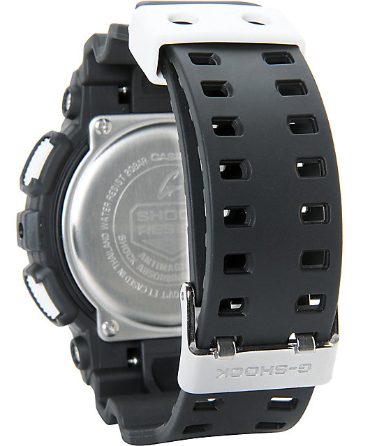 G-Shock GA110BW-1A Digital Chronograph Watch