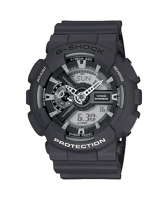 G-Shock GA110C-1A X-Large Monotone Black Watch