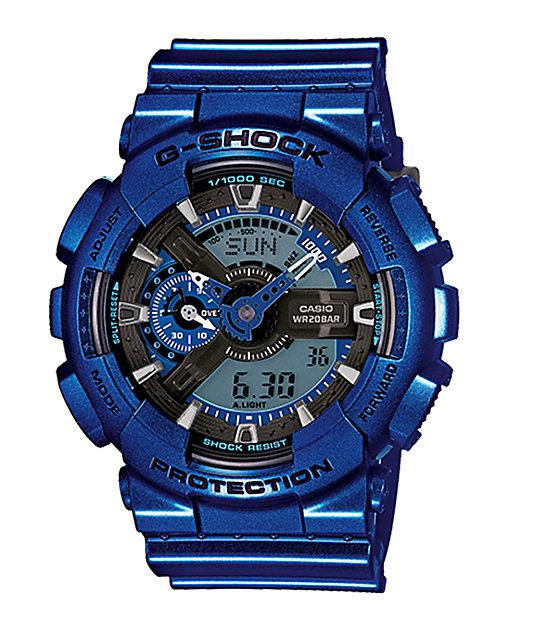 G shock ga110nm 2a metallic watch at zumiez pdp for Watches zumiez