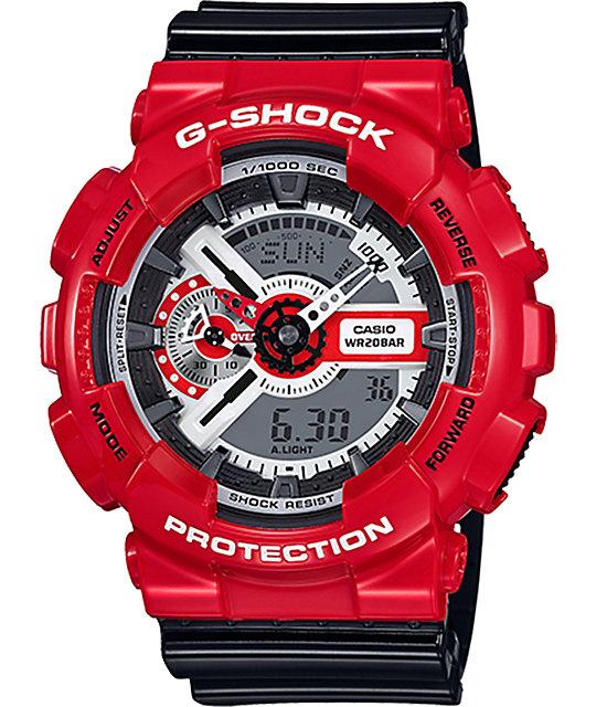 G-Shock GA110RD-4A Red Theme Watch