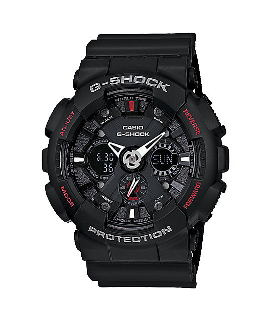 G-Shock GA120-1A Classic Black Watch