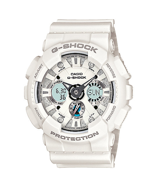 G-Shock GA120-7A  X-Large Matte White Watch