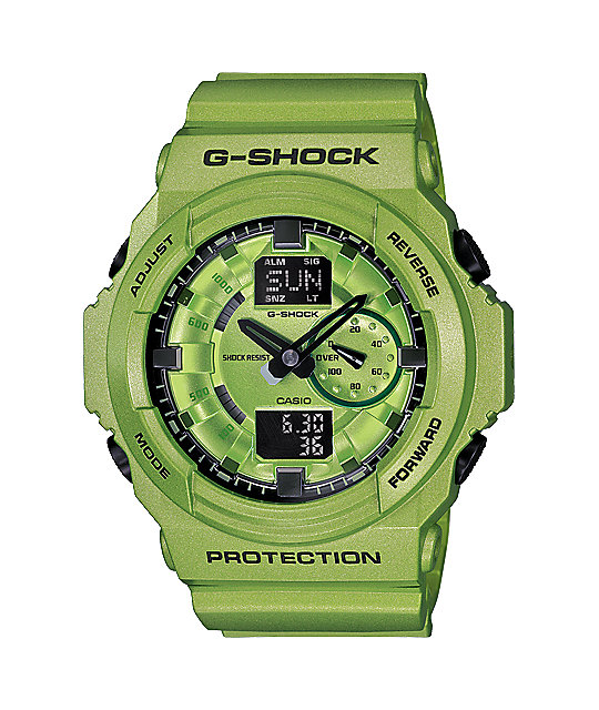 G-Shock GA150A-3A Metallic Green Limited Edition Watch