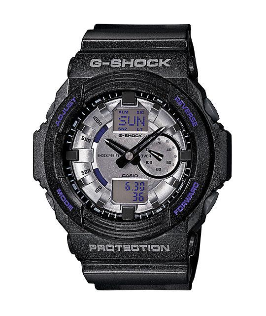 G-Shock GA150MF-8A Metallic Finish Black Watch