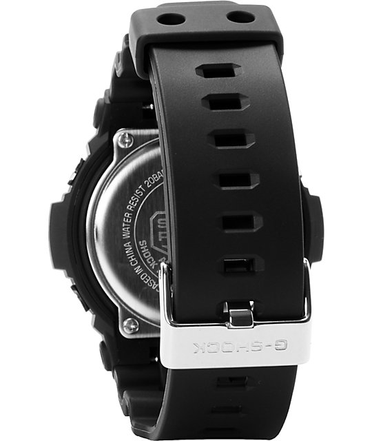 G-Shock GA201-1A X-Large Black Chronograph Watch