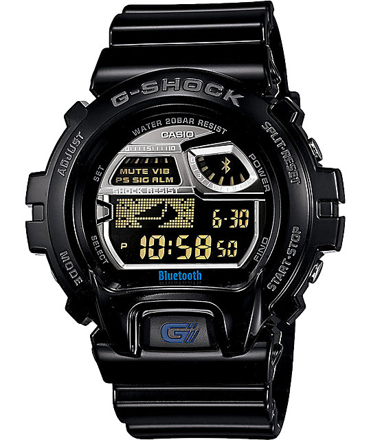 G-Shock GB6900AA-1 Black LTD Bluetooth Smart Watch