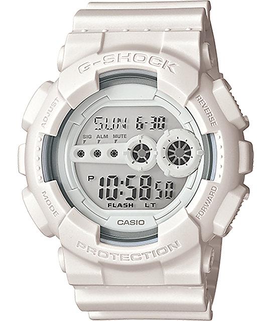 G-Shock GD-100WW-7S White Series Digital Watch