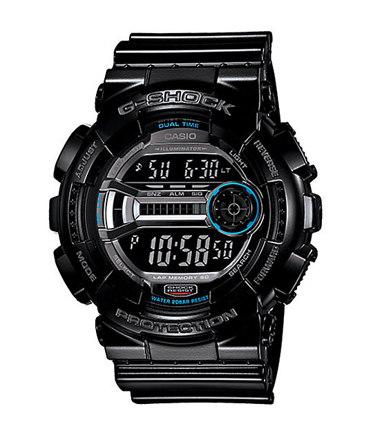 G-Shock GD110-1 Lap Memory 60 Black Watch
