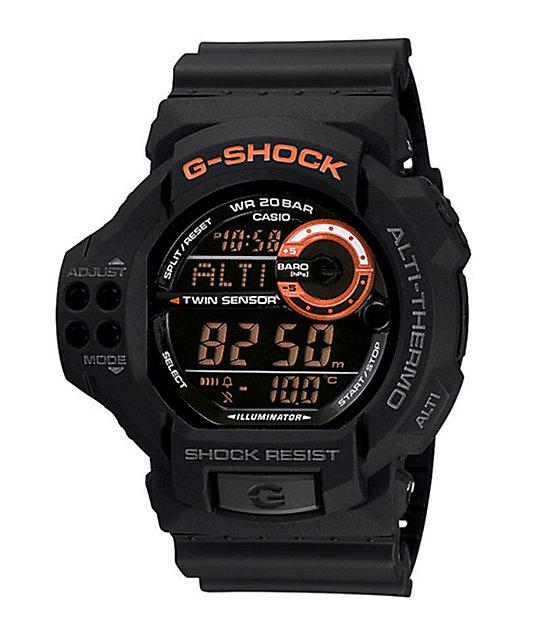 G-Shock GDF100-1B Classic Black & Orange Watch