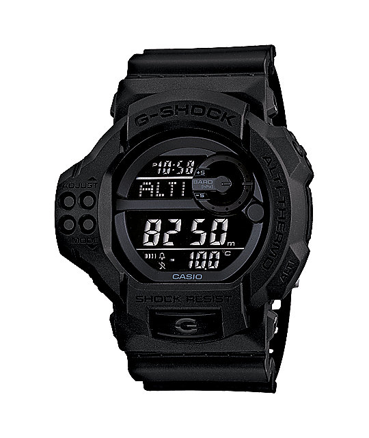G-Shock GDF100BB-1 Blackout Pack Digital Watch