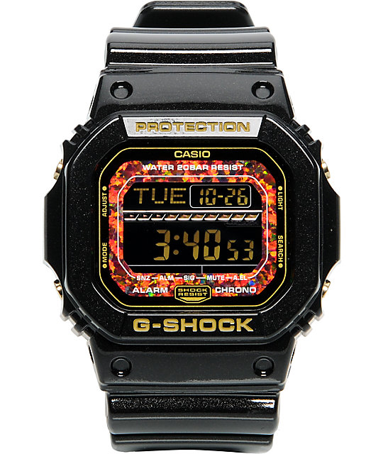 G-Shock GLS5600KL-1 Black & Orange Limited Edition Digital Watch