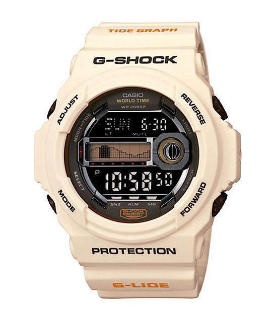 G-Shock GLX150-7 G-Lide Off-White Watch