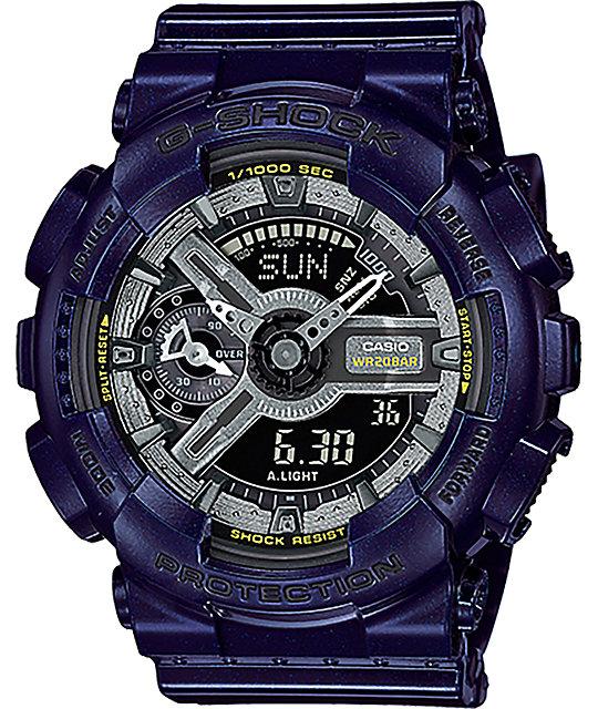 G-Shock GMA-S110MC-2A Dark Metallic Blue Watch