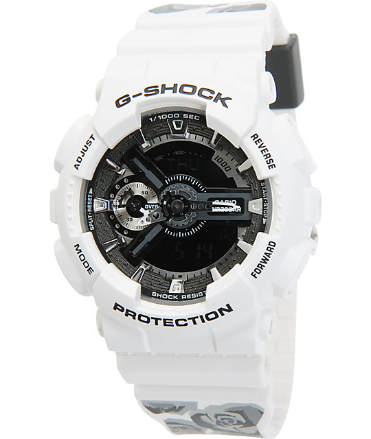 Watch G Shock Gmas110f 7a Flower At Zumiez Pdp