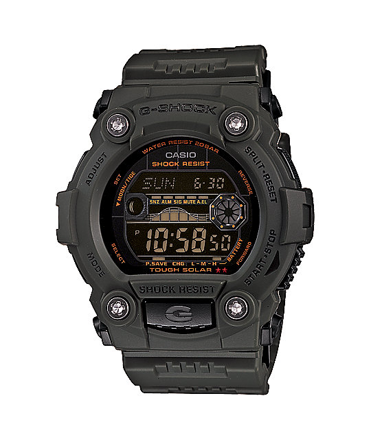 G-Shock GR7900KG-3 G-Force Olive Green Watch