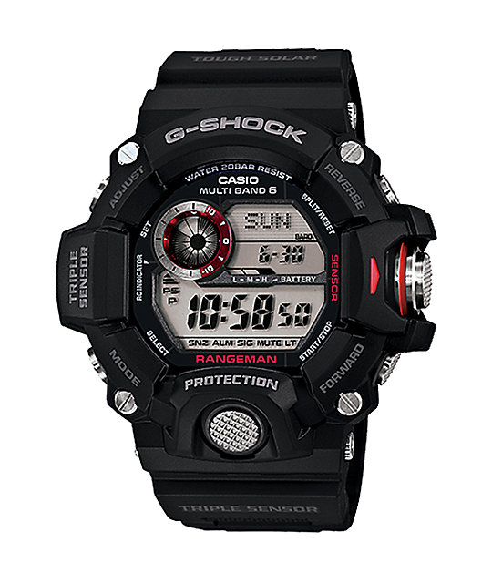 G-Shock GW-9400 Rangeman Black & Red Watch