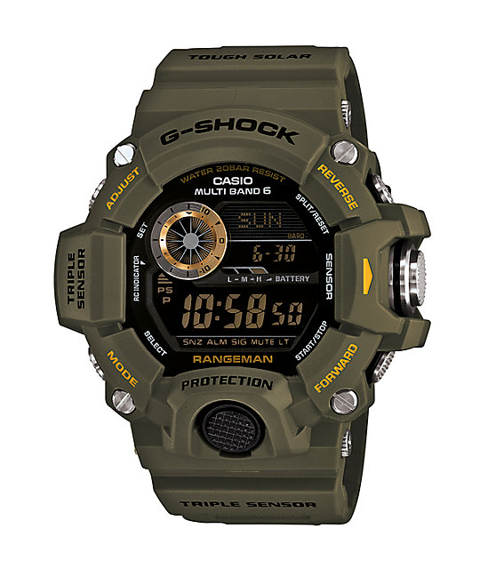 G-Shock GW-9400 Rangeman Olive & Black Watch
