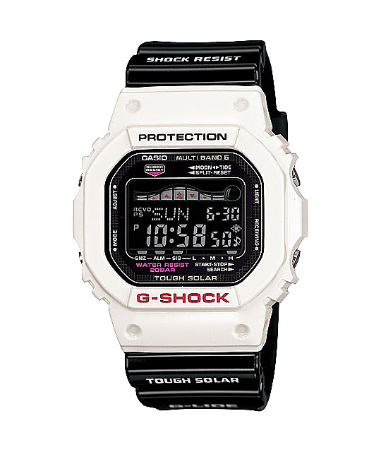 G-Shock GWX5600B-7 G-Lide White & Black Digital Watch