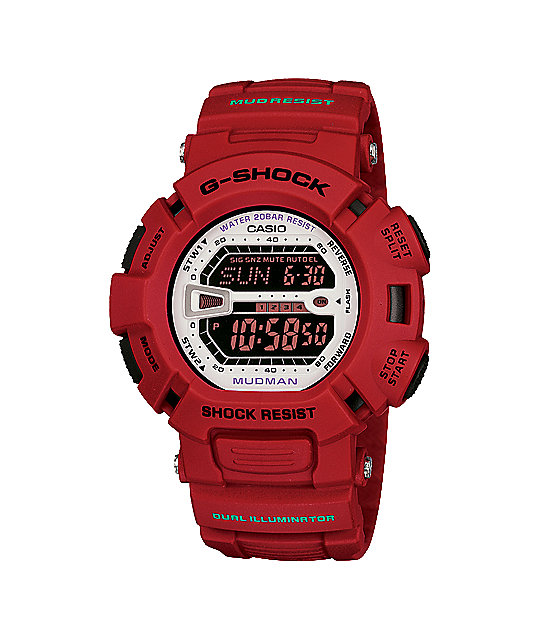 G-Shock Mudman G6900MX-4CR Red Digital Watch