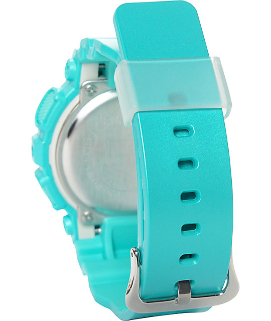 G-Shock Vivid Color GMAS110VC-3A Teal Digital Watch