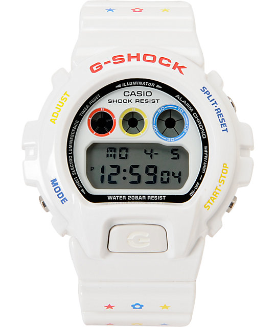 G-Shock x Bearbrick DW6900MT-7 LTD White Watch