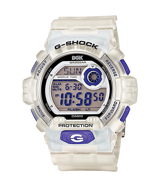 G-Shock x DGK 7JR G8900DGK LTD Clear Watch