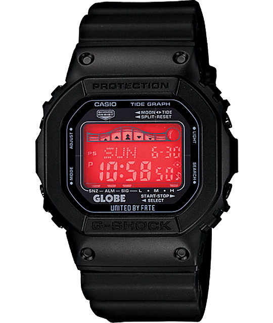 G-Shock x Globe GRX5600GE-1 Black Digital Watch