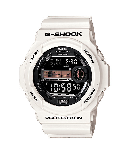 G-Shock x In4mation GLX150-7 G-Lide White Watch
