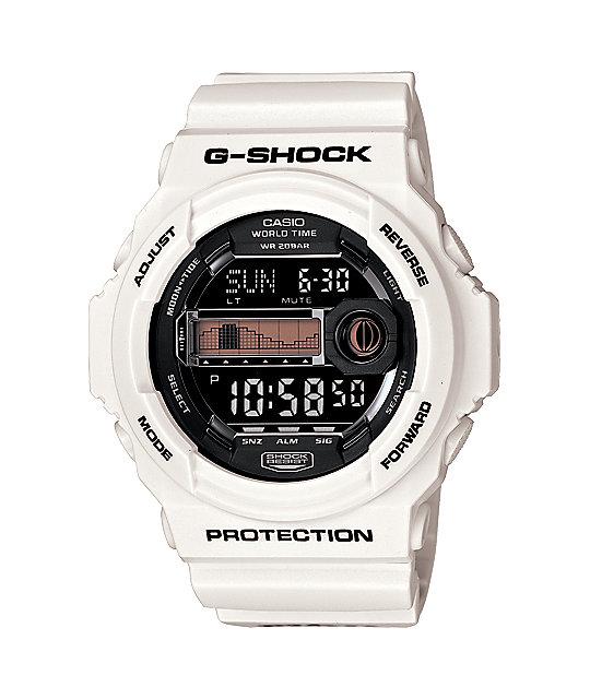 G-Shock x In4mation GLX150-7 G-Lide White Watch