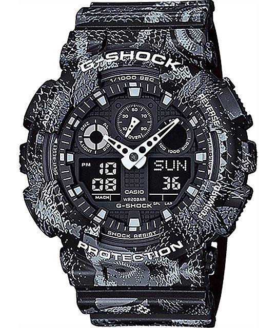 G-Shock x Marcelo Burlon GA100MRB-1A Black Watch
