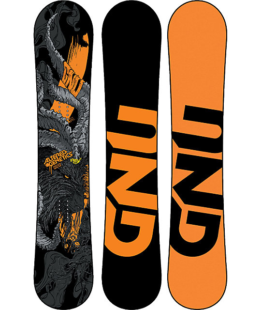 GNU Altered Genetics C2 BTX 159cm Mens Snowboard