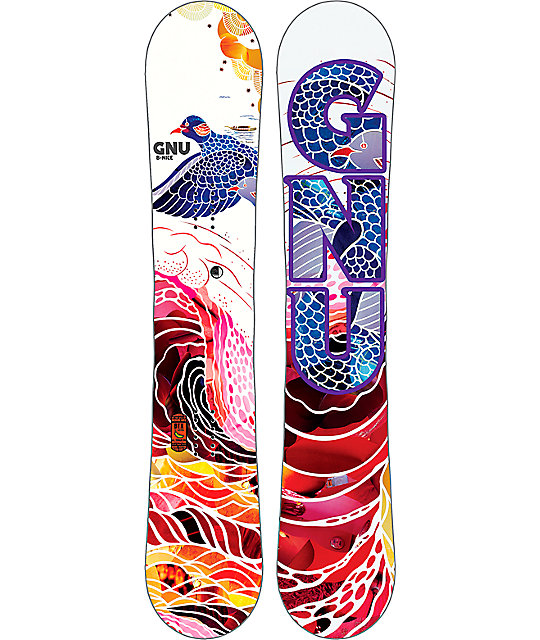 GNU B-Nice Flight 145cm Womens Snowboard