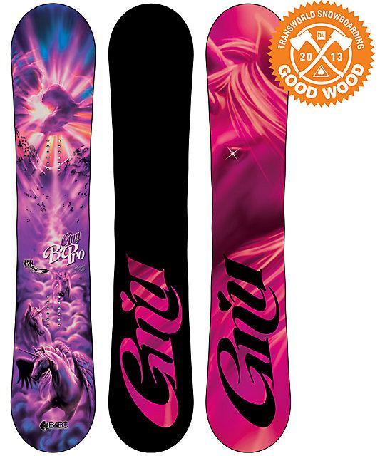 GNU B-Pro C2 BTX 155cm Womens Snowboard