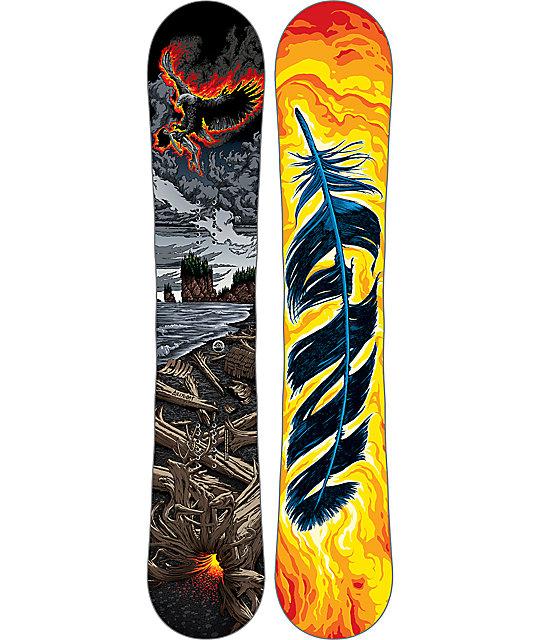 GNU Billy Goat C3 BTX 162cm Wide Snowboard