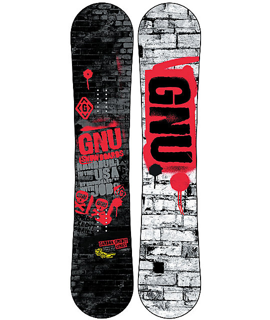 GNU Carbon Credit BTX 153cm Snowboard
