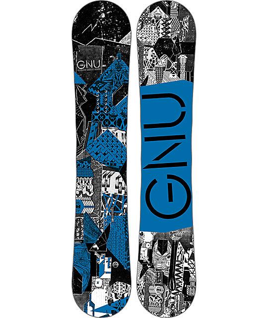 GNU Carbon Credit BTX 162cm Snowboard