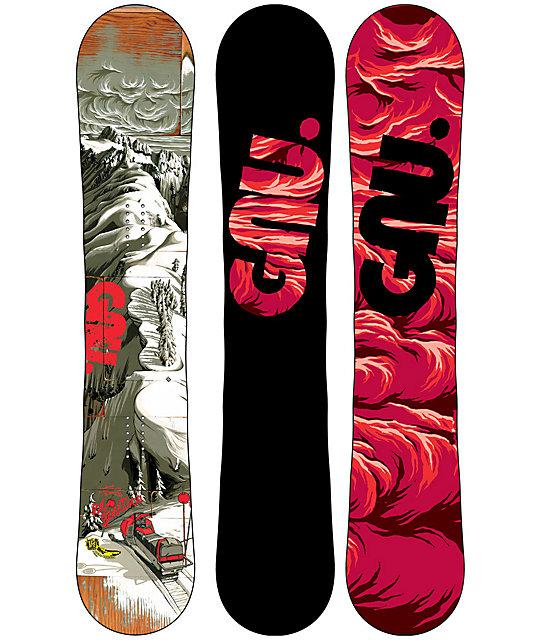 GNU Eco-Genetics C2 BTX 155cm Snowboard