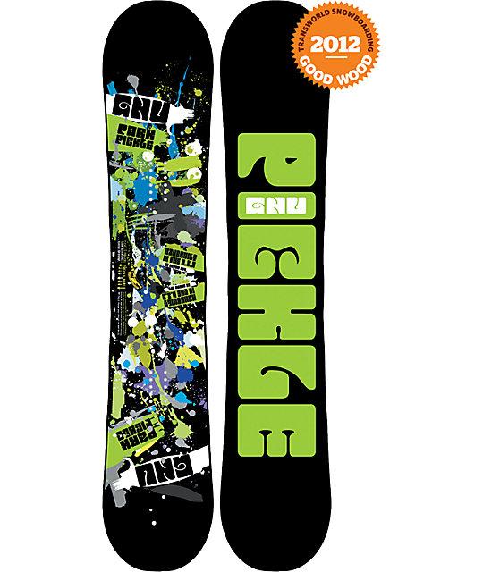 GNU Park Pickle BTX 159cm Mens Snowboard