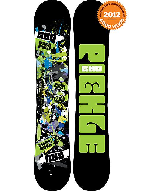 GNU Park Pickle BTX 159cm Wide Mens Snowboard