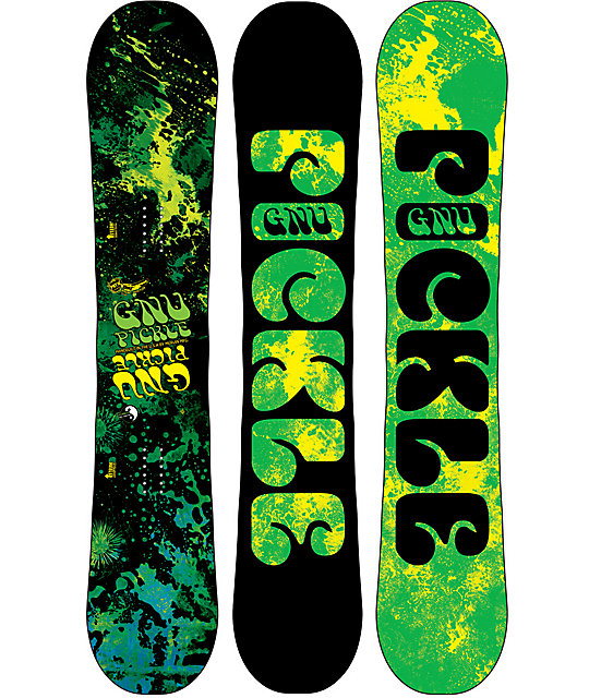 GNU Pickle PBTX 150cm Snowboard