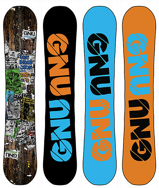 GNU Riders Choice C2 PBTX 162cm Wide Snowboard