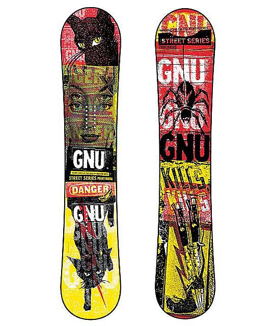 GNU Street Series BTX 154cm Mens Snowboard