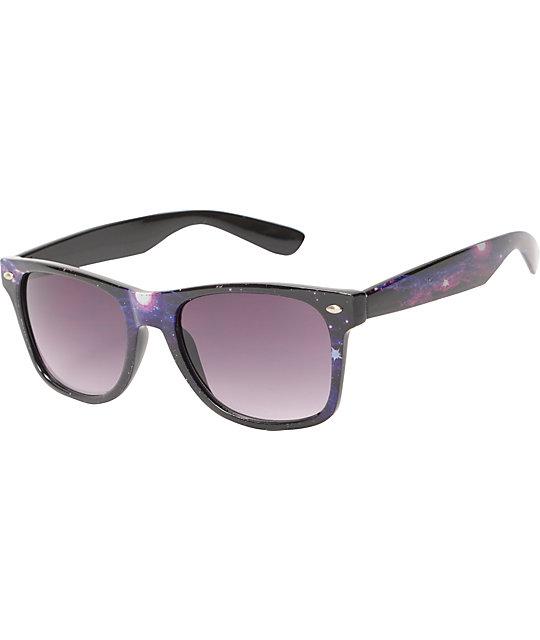 Galaxy Print Sunglasses