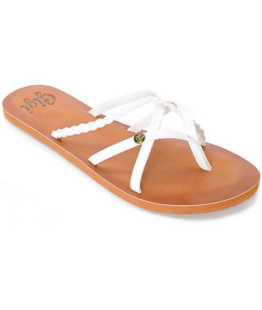 Gigi Star White Sandals