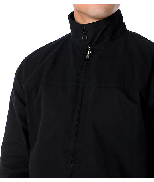 Girl Alzado Mens Black Zip Jacket
